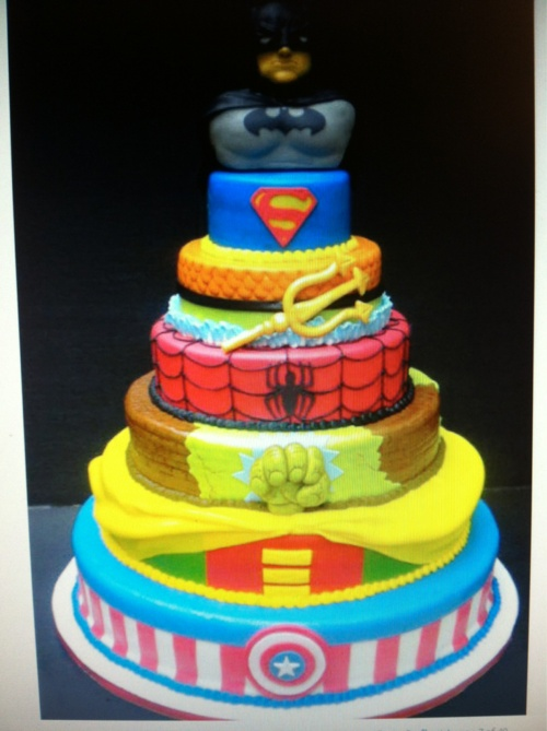 310 best images about superhero birthday party theme on for How to make the best birthday cake ever