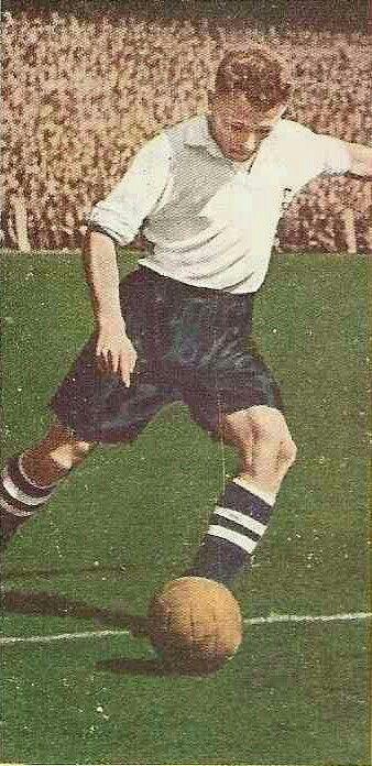 Tommy Docherty of Preston North End & Scotland in 1954.