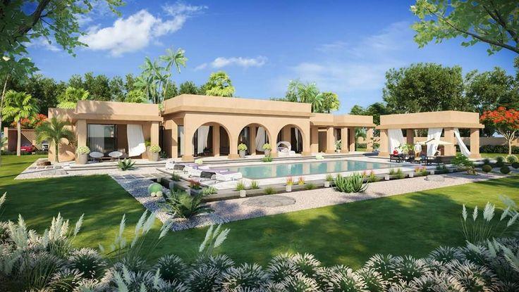 Villa Marrakech by Laila Benchekroun Architecte