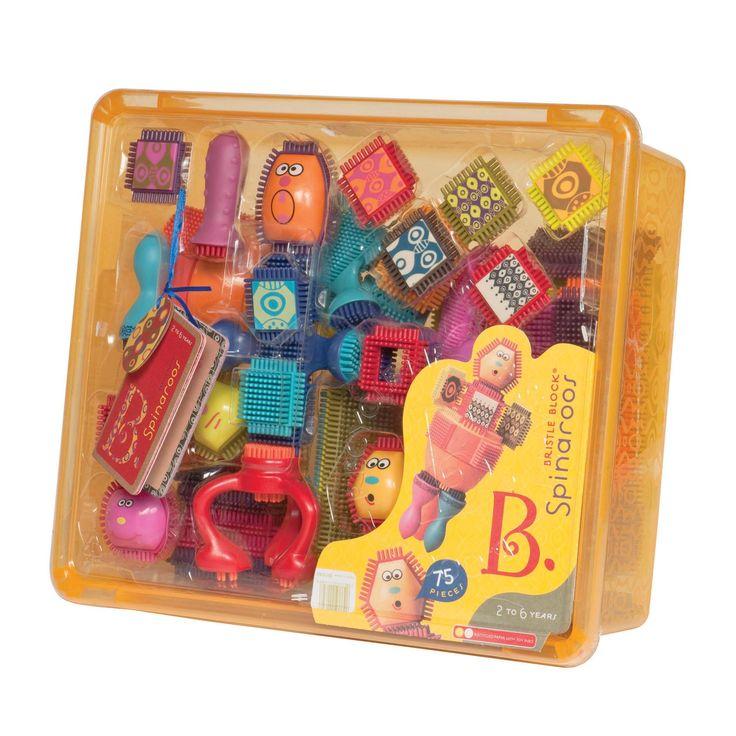 B. Toys : Spinaroos Building Set (Bristle Blocks): Amazon.co.uk: Toys & Games