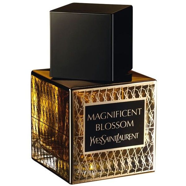 Yves Saint Laurent Magnificent Blossom (EDP, 80ml) found on Polyvore featuring beauty products, fragrance, perfume, beauty, fragrances, blossom perfume, eau de perfume, flower fragrance, perfume fragrances and yves saint laurent fragrance