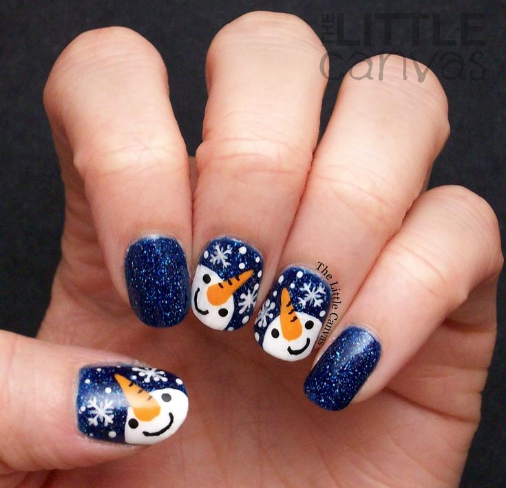 The 25 best snowman nails ideas on pinterest snowman nail art snowman nail art prinsesfo Images