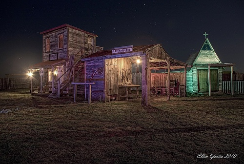 Ghost town in Manor Texas