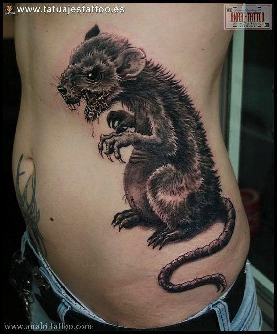 tatuaje de ratón