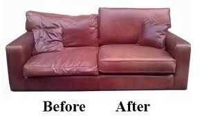 saggy leather couch or sofa