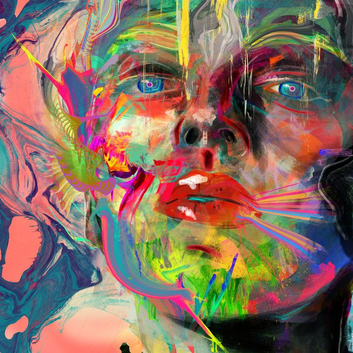 """Lyka"" Art Print by Archan Nair on Society6.  https://www.pinterest.com/pin/540150549031743181/"