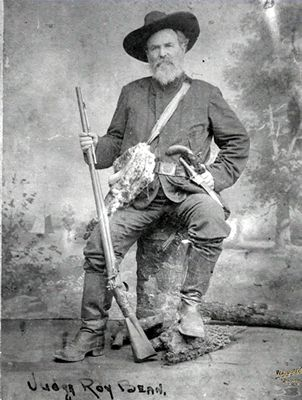 THE REAL LIFE AND TIMES OF JUDGE ROY BEAN: Any six-year-old boy can tell you that when it comes to cowboys, good guys wear white hats and bad guys wear black hats. If that's true, then the man who is the topic of today's Campfire Chronicle story probably should have worn a gray hat. You may think you know a lot about the infamous Judge Roy Bean, but when it comes to the REAL Judge Roy Bean, chances are that you don't know Bean(s)! Read on! #wildwest   #history