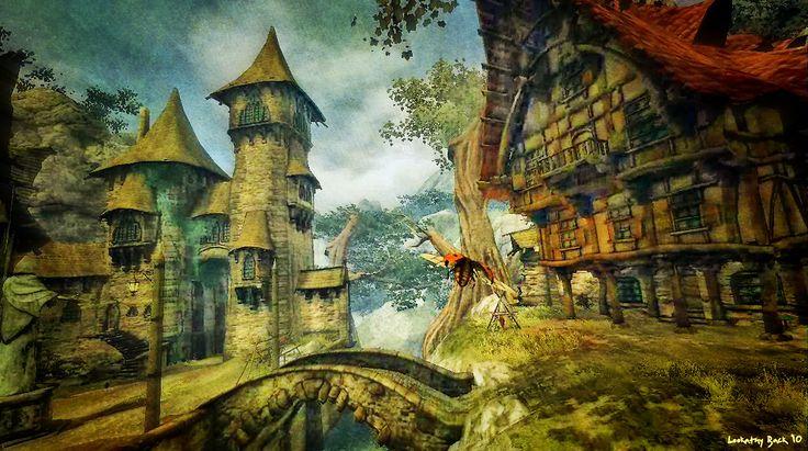 afbeeldingen fantasie landschap - Google zoeken