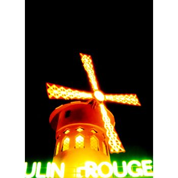 Paris, Moulin Rouge in the Chinesse new year, photo from Pepa Torre
