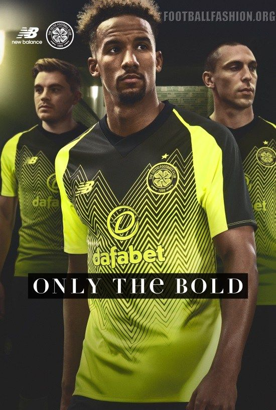 Celtic Football Club 2018 2019 New Balance Third Football Kit 89450dd68