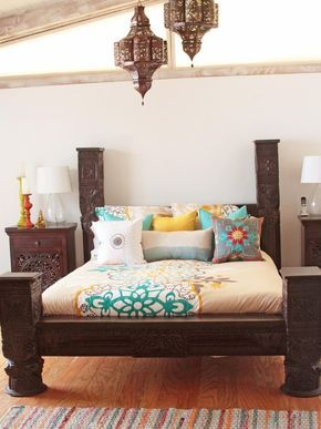 66 mysterious moroccan bedroom designs digsdigs - Moroccan Bedroom Decorating Ideas