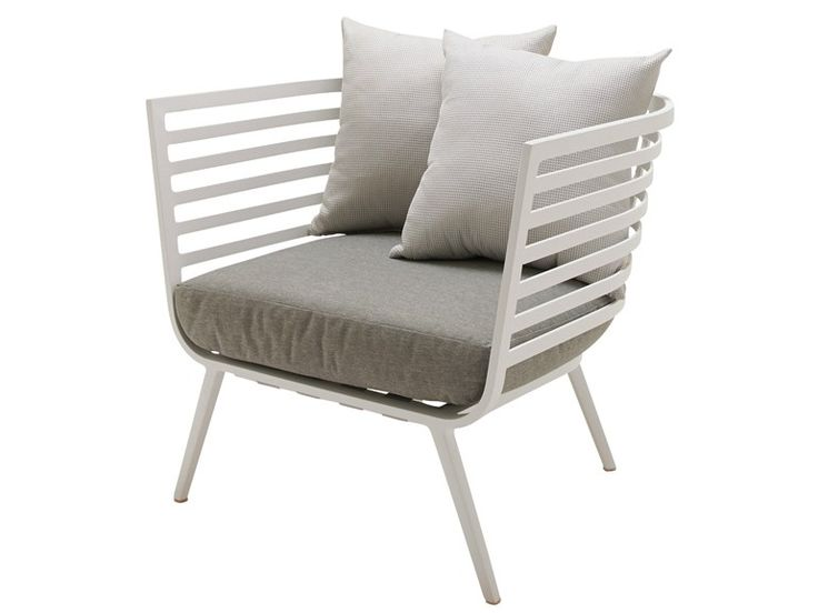 Garden Armchair With Armrests Vista Collection By Gloster
