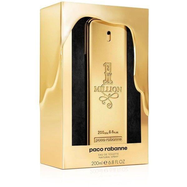 Paco Rabanne 1 Million Eau de Toilette Collector's Edition ($114) ❤ liked on Polyvore featuring beauty products, fragrance, no color, eau de toilette perfume, paco rabanne fragrance, eau de toilette fragrance, paco rabanne perfume and paco rabanne