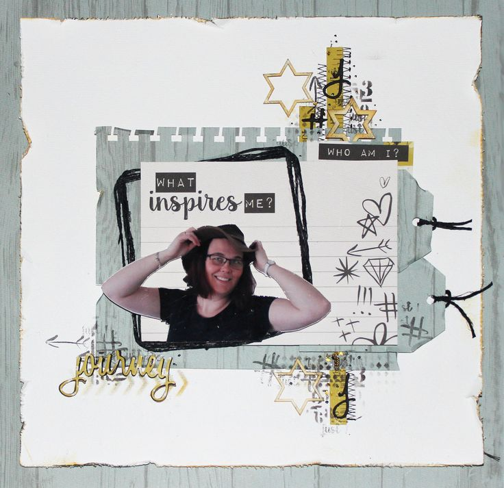 KAISERCRAFT - #ME - LAYOUT - MIXED MEDIA KIRSTEN HYDE - MYHYDEAWAY - 4