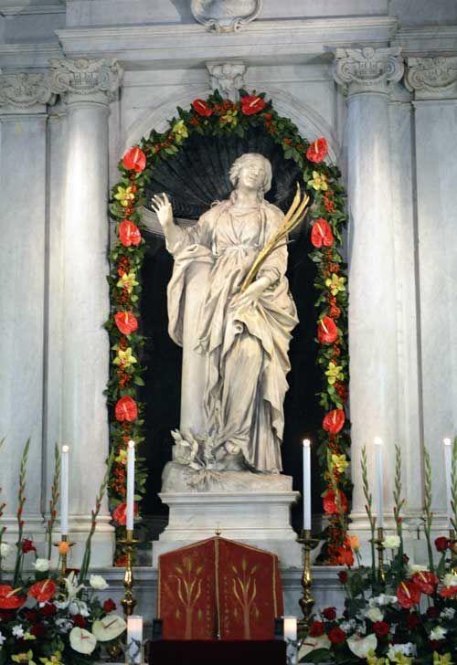 Santa Bibiana festa 2 dicembre 2012