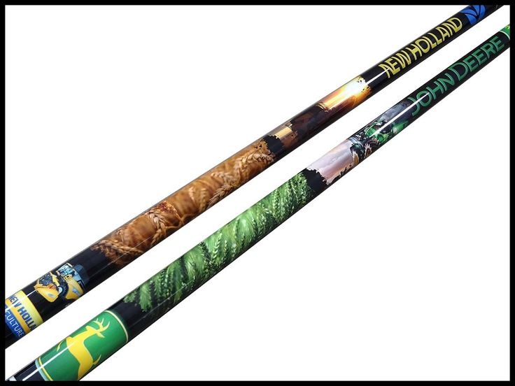 Corporate cues john deere new holland agricultural for Pool cues design your own