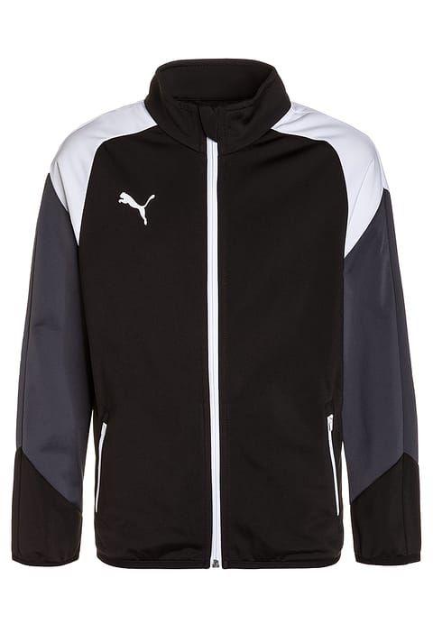 Bestill  Puma ESITO - Treningsjakke - black/white/ebony for kr 349,00 (29.08.17) med gratis frakt på Zalando.no