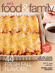 food&family Magazine, Fall 2015