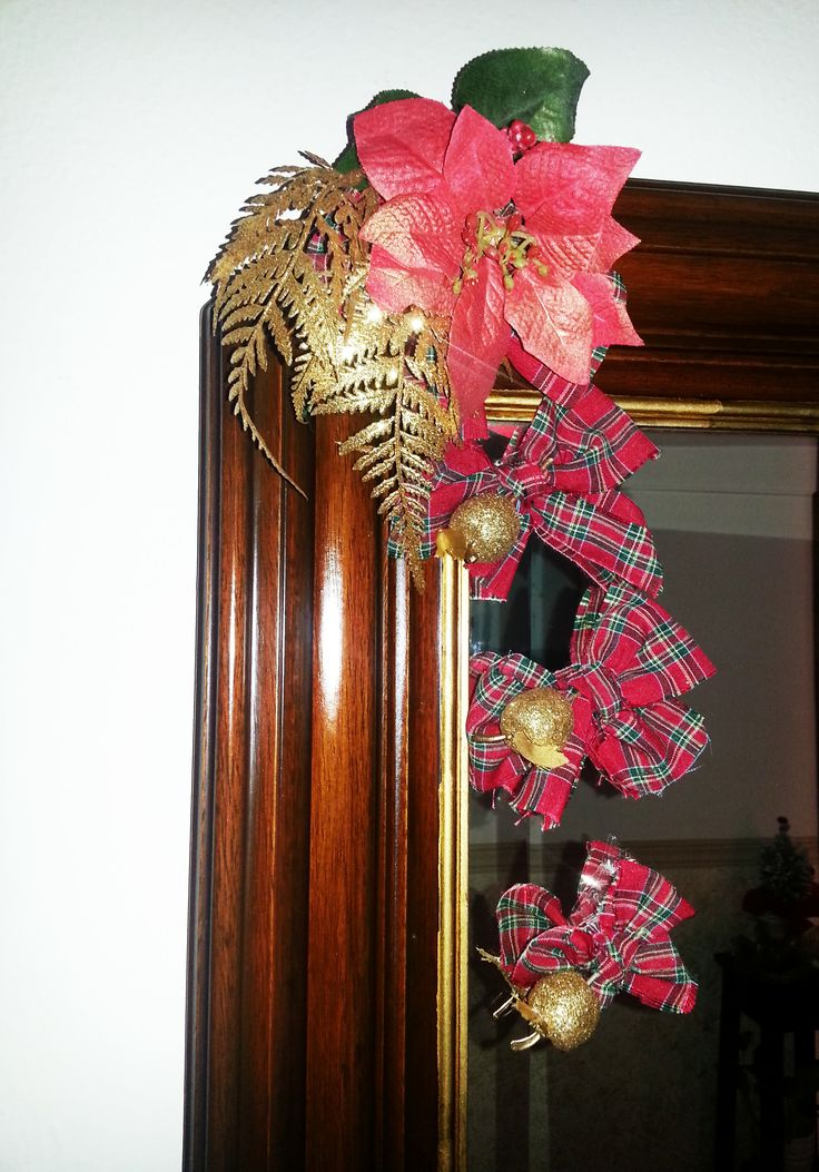 #CHRISTMAS #TARTAN BOW #DECORATIONS  Ideas for christmas