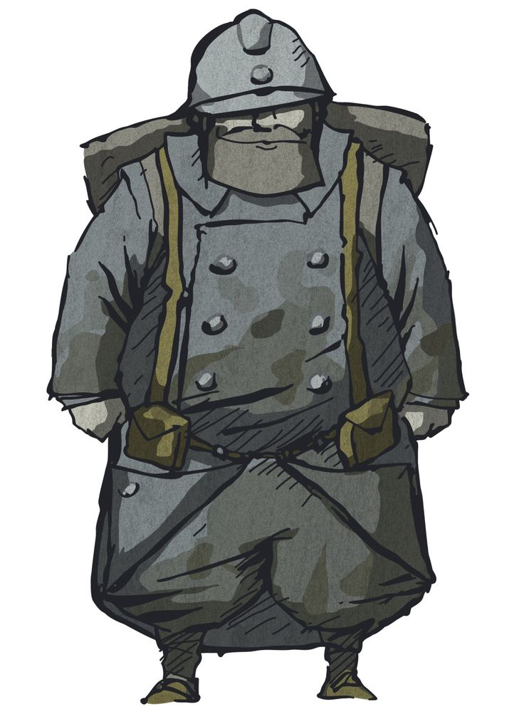 Emile from Valiant Hearts: The Great War. #illustration #art #character