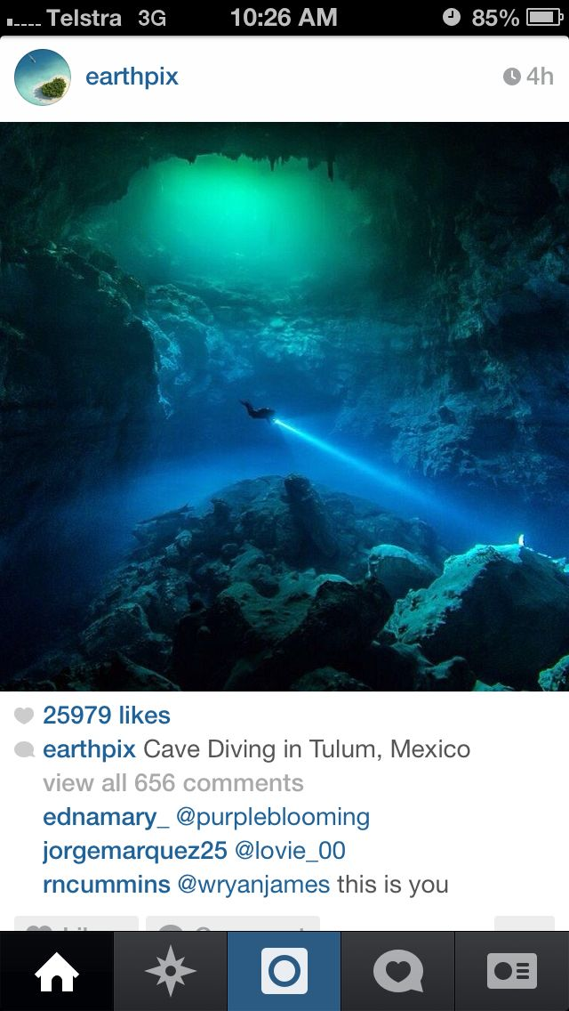 Cave diving - Mexico