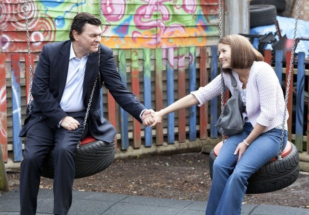 Derek and Alice Branning played by Jamie Foreman and Jasmyn Banks... Aww father daughter love xx