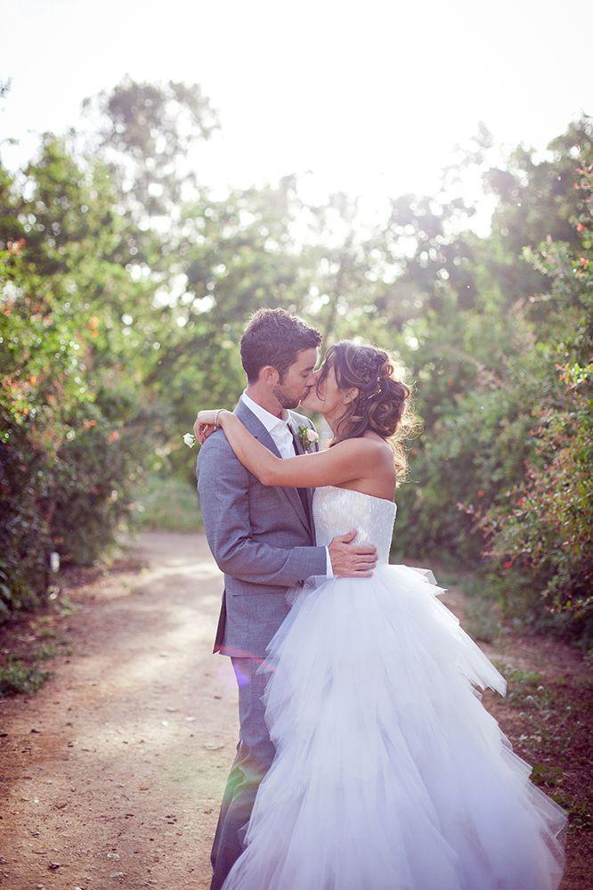 Wedding Portrait - evening sun