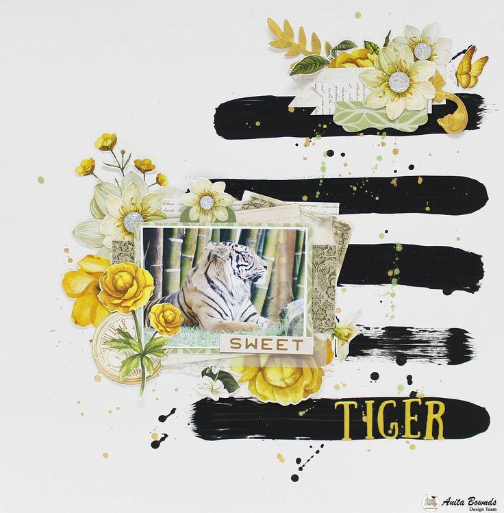Sweet tiger - Kaisercraft - Golden Grove Collection