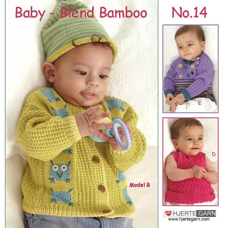 HJERTEGARN BABY № 14 Heft mit 7 süßen Baby-Modellen aus Dänemark Reborn Stricken | eBay