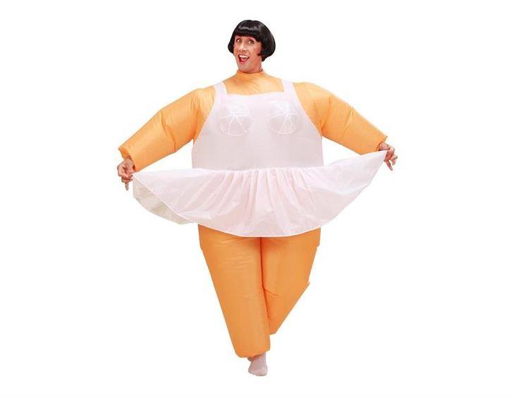 Надувной костюм балерины купить