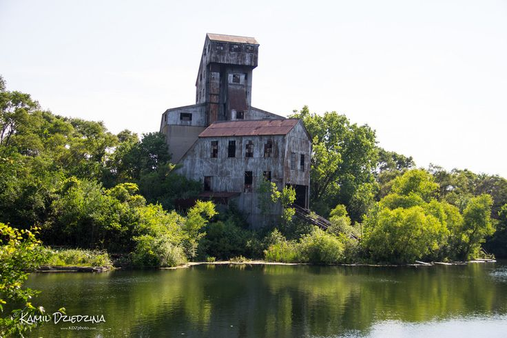 Abandoned Rock Crusher, Joliet, Illinois