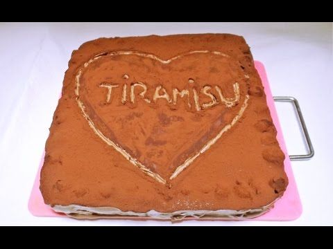 Tiramisu cu Ciocolată și Vișine ⋆ Dalida Cuisine