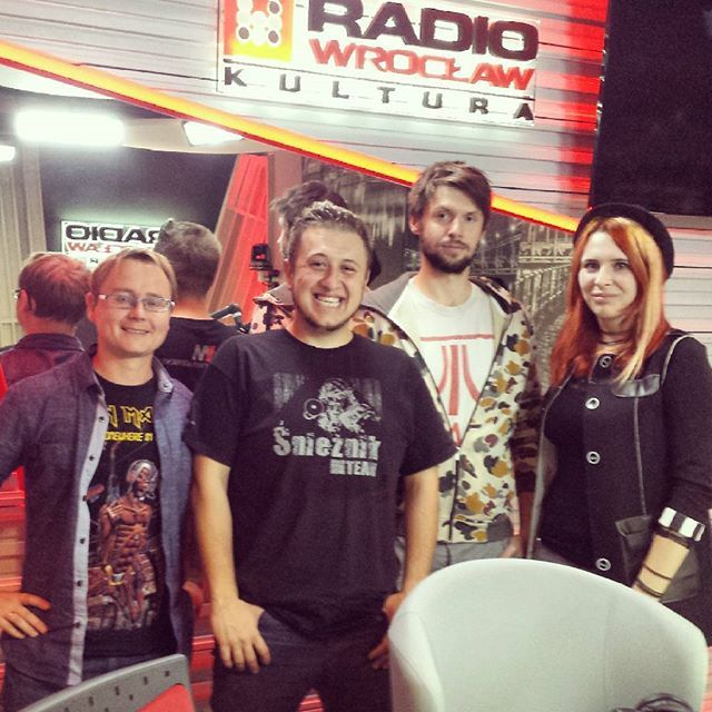 Three of us were in Radio Wrocław Kultura to talk about postapocalyptic literature and our festival. We are glad to know that there's such an intrest in our work :) #oldtown #oldtownfestival #oldtownpreps #radio #wroclaw #kultura #radiowroclawkultura