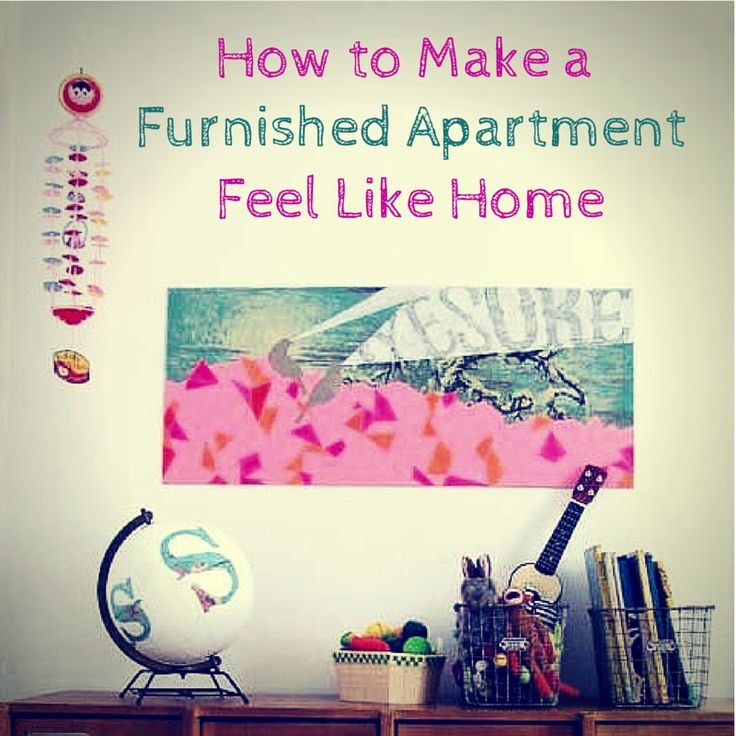 Having a furnished apartment is great, but sometimes can be hard to make it feel like home. Here's how you can make an already furnished apartment your own! #curtains #color #decorating