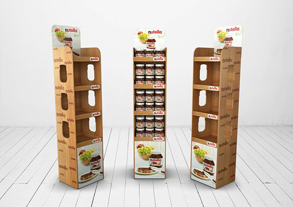 Nutella POSm on Behance