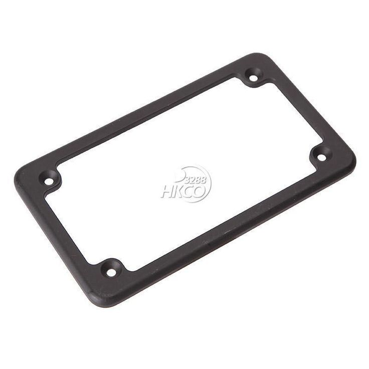 "Awesome BMW 2017: 4""x7"" Black Standard Motorcycle License Plate Frame For Honda, Kawasak... Car24 - World Bayers Check more at http://car24.top/2017/2017/07/17/bmw-2017-4x7-black-standard-motorcycle-license-plate-frame-for-honda-kawasak-car24-world-bayers/"