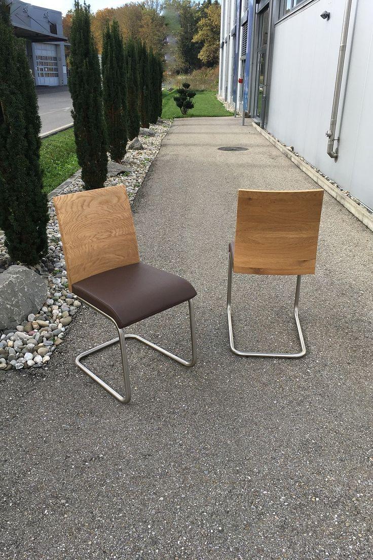 Esszimmer Stuhl Wöstmann in Leder neu beziehen   Lounge