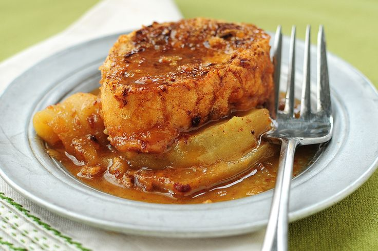 Tasty Kitchen Blog: Apple Bourbon French Toast Casserole. Guest post by Amy Johnson of She Wears Many Hats, recipe submitted by TK member Courtney of Bake. Eat. Repeat.