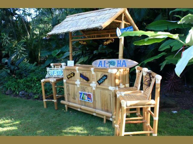 Build Tiki Bar A Cheap Diy With Pallets At Home Ashistory Homemade
