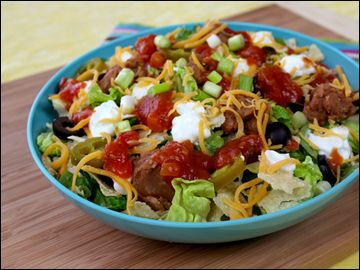 Nacho-ed Up Mexi-Chop pg 140 HG 300 Under 300: Books Pages, Simply Salad, Diet Recipes, Book Pages, 300 Books