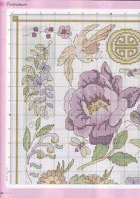 схема вышивки крестом диванные подушки, цветы. маки, лютики, красные розы, ирисы, подснежники, летний, весенний букеты