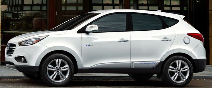 Hyundai Tuscon Fuel Cell $499/mo. This may be a little too new... I think it's only leasing in LA right now.
