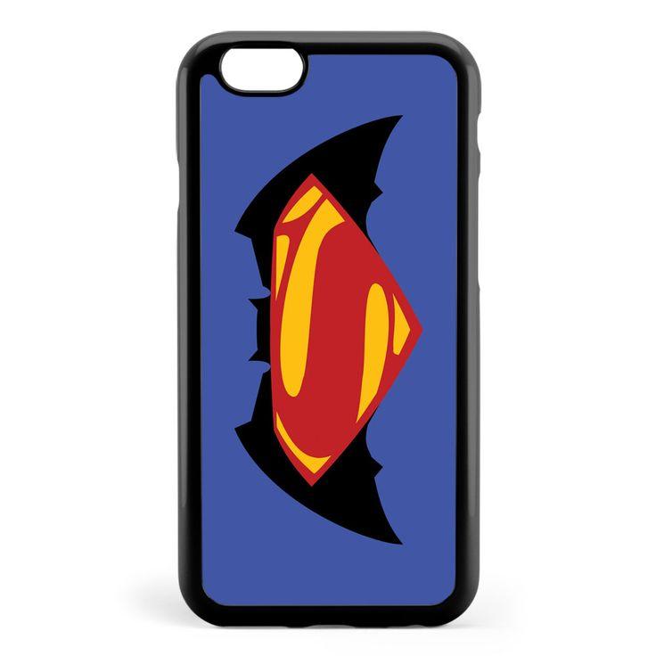 Batman Superman Logo Apple iPhone 6 / iPhone 6s Case Cover ISVG429