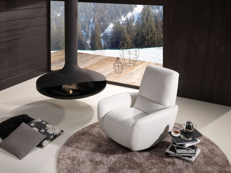 Natuzzi Armchair - GENNY # 2483 Reclining and swivel chair. Upholstered leather or fabric. & 19 best ARMCHAIRS BY NATUZZI ITALIA images on Pinterest ... islam-shia.org