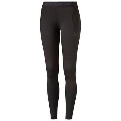 X-Large, Black - black, PUMA Women's Jogging Bottoms Leggings Branded