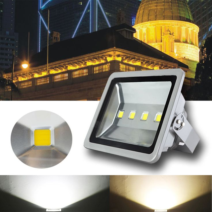 10W 20W 50W 100W 200W 300W LED Fluter Außen Strahler Scheinwerfer Flutlicht in Möbel & Wohnen, Beleuchtung, Leuchtmittel | eBay