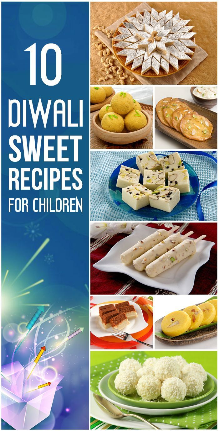 10 Delicious Diwali Sweet Recipes For Children