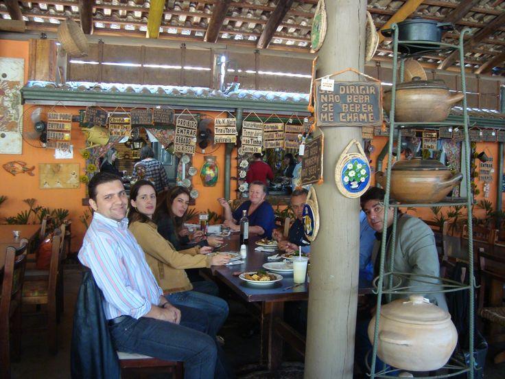 Edson, Fabiane, Simone, Débora, Cido, Cesar (atrás do poste rsrs) e Noriedson