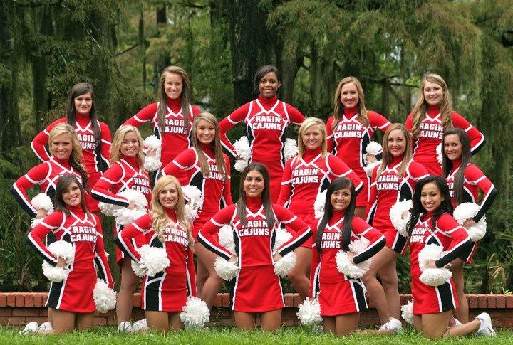 2011-2012 All Girl Cheerleading Squad
