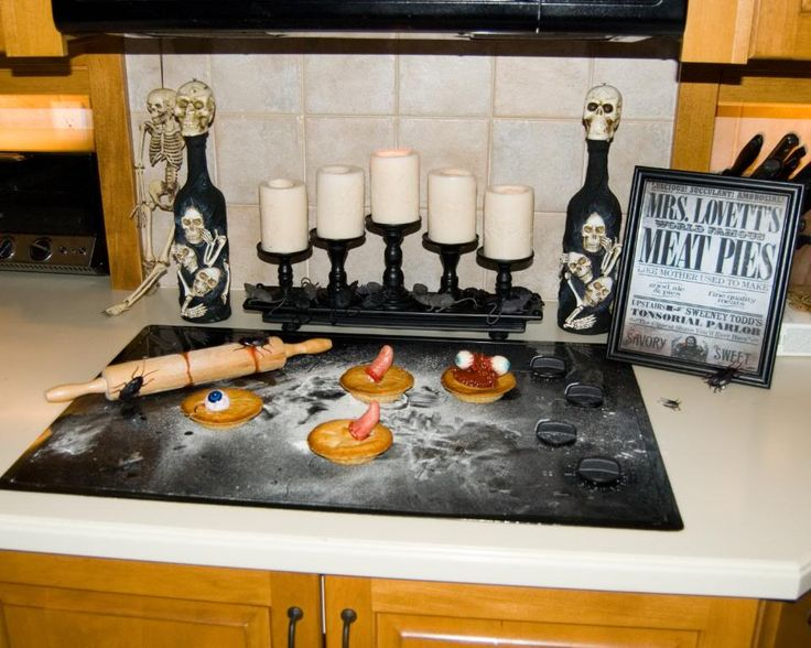witchs kitchen idea on halloween forum - Halloween Kitchen Decor